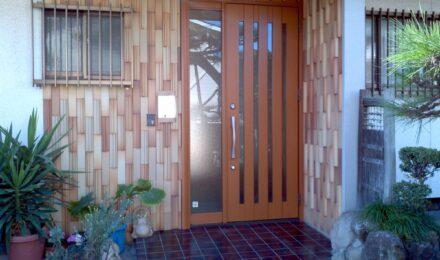 F様邸玄関ドアリフォーム